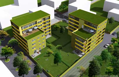 architekten plan 3d bild