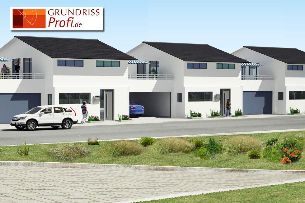3D Ansicht Haus 3