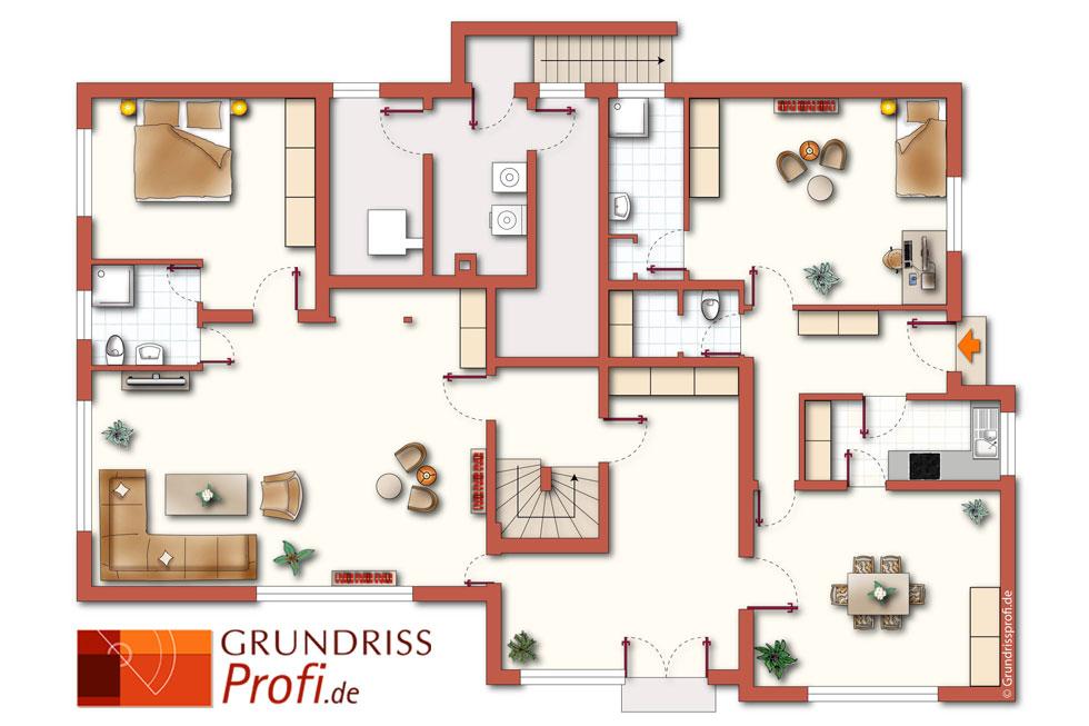 grundriss beispiele 7 - Mehrfamilienhaus Grundriss Beispiele