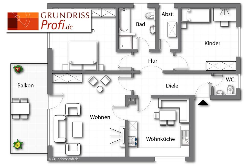 grundriss beispiele 8 - Mehrfamilienhaus Grundriss Beispiele