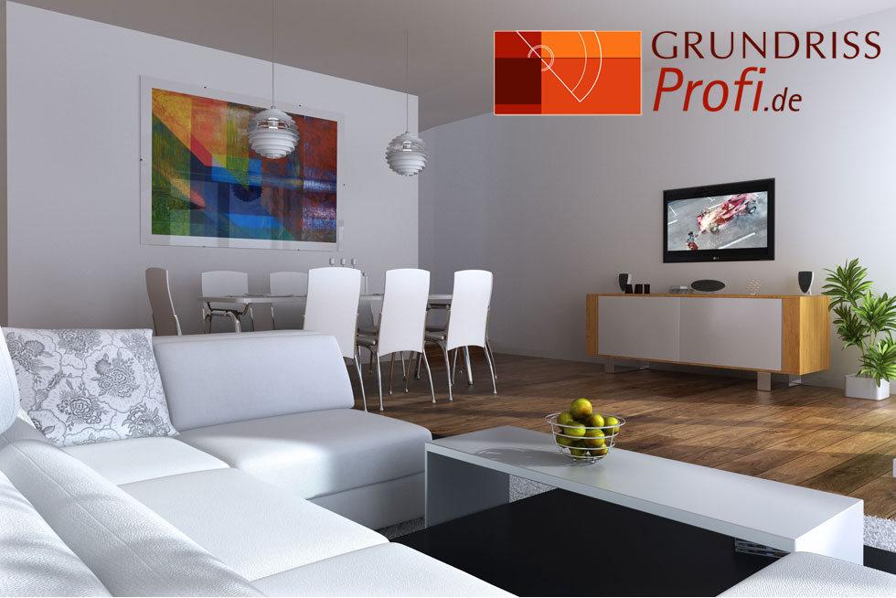 Grundrisse Zeichnen Lassen : GRUNDRISSProfi • Haus in 3D zeichnen lassen