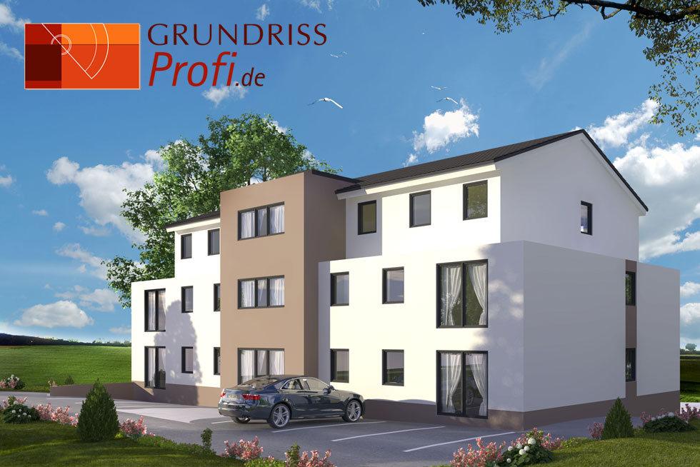 GRUNDRISSProfi • Haus in 3D