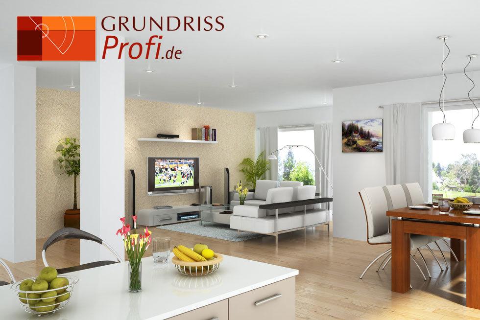 grundrissprofi raum visualisierung in 3d. Black Bedroom Furniture Sets. Home Design Ideas