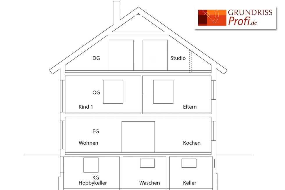 haus schnitt zeichnen schnitt zeichnen fig schnitt zeichnen schnitt kurs chiemgauer. Black Bedroom Furniture Sets. Home Design Ideas