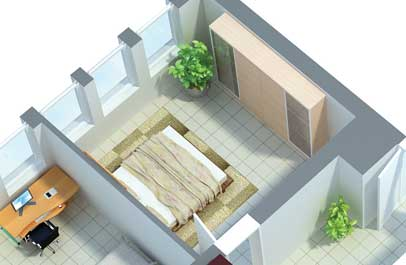 marketing 3d immobilien plan