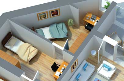 marketing optimierung in 3d im bereich immobilien
